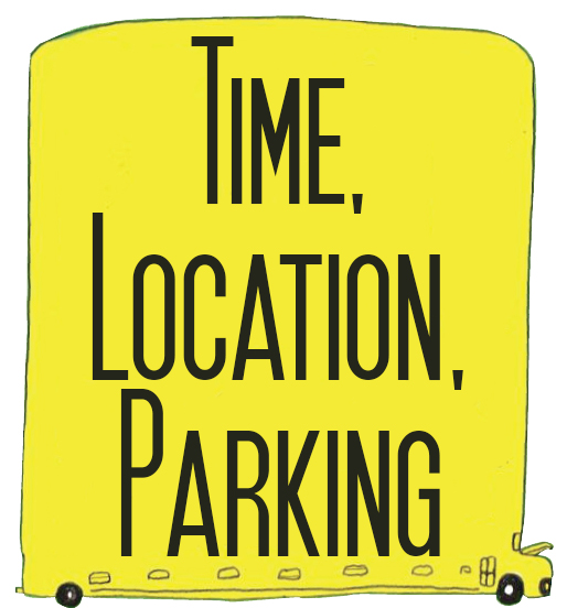 Time, Location, Parking, Info