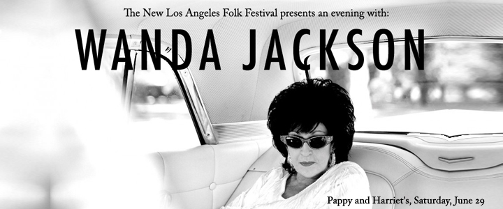 Wanda Jackson at Pappy and Harriet's // June 29, 2013
